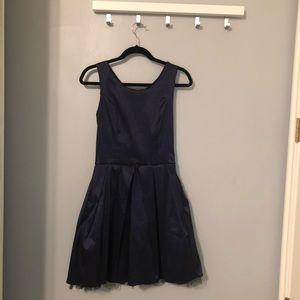 Beautiful Deep Blue Dress